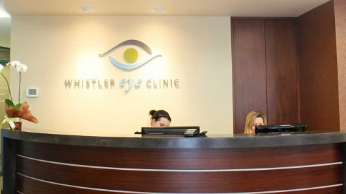 Whistler Eye Clinic tenant improvement, renovation and construction projects